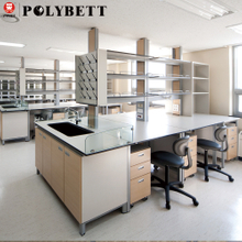 HPL phenolic chemical resistant table top lab countertop