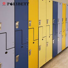 Colorful HPL phenolic resin compact laminate board for school children classroom locker