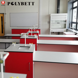 Polybett formica white hpl chemical resistant laminate sheet for school lab tabletop