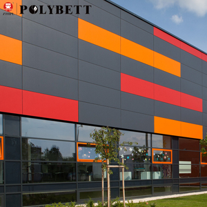 HPL durable compact laminate exterior hpl wall panels