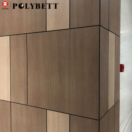 Decorative Exterior HPL Wall Cladding Panels for Building Construction