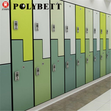 Professional Polybett High Gloss Woodgrain Waterproof Hpl Compact Laminate Boards for Locker