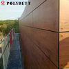 Hot selling phenolic resin laminate exterior wall cladding panel for wholesales