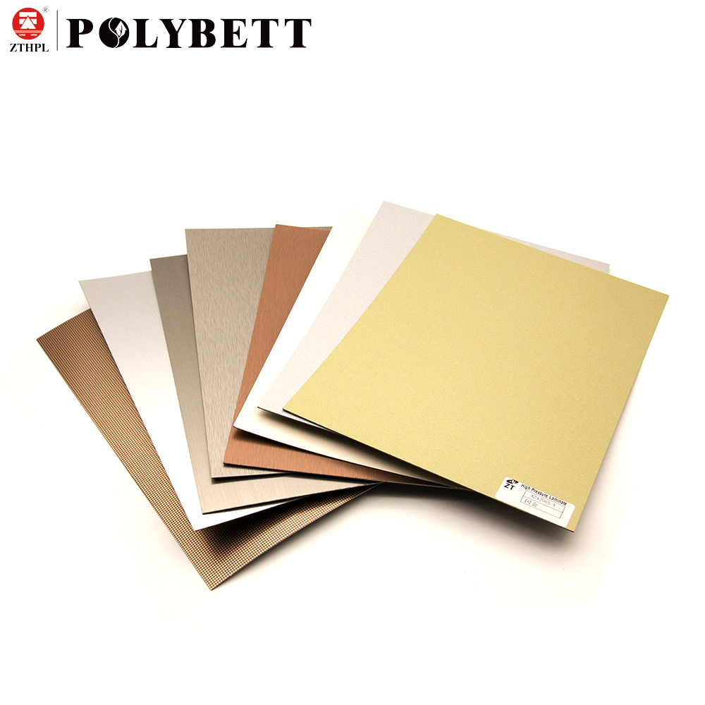 High Gloss Waterproof Formica High Pressure Laminate Hpl Sheet for Furniture Decorative Sheet