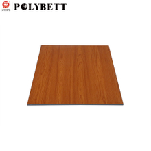High Gloss Solid Wood Color Phenolic High Pressure Compact Hpl Wall Cladding