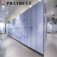 Zhongtain waterproof hpl locker phenolic compact laminate board for leisure center wet area