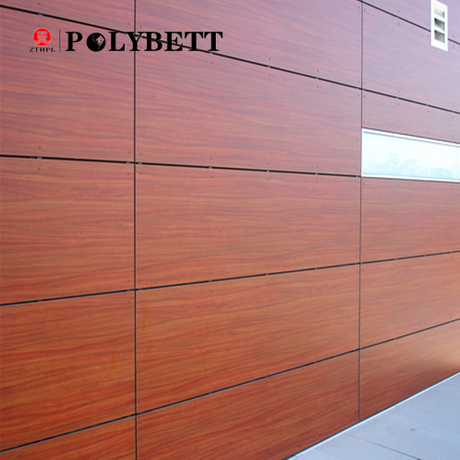 Polybett Decorative HPL Exterior Compact Wall Panel with Low Price